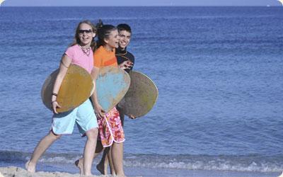 Fun activities for teens Brittas Bay